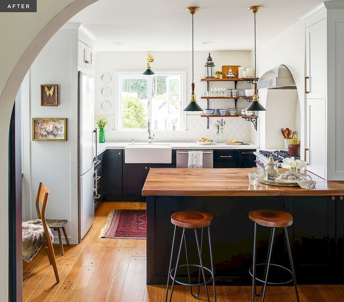 28 Small Kitchen Design Ideas: Best Inspire Small Kitchen Remodel Ideas (28)