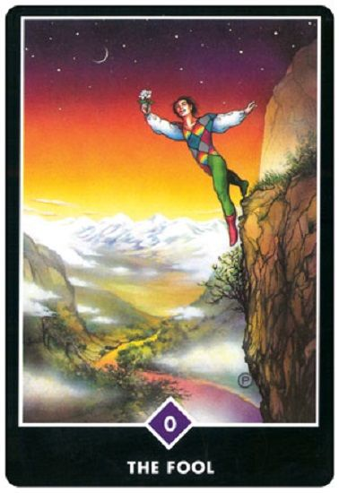 Image result for fool osho tarot card
