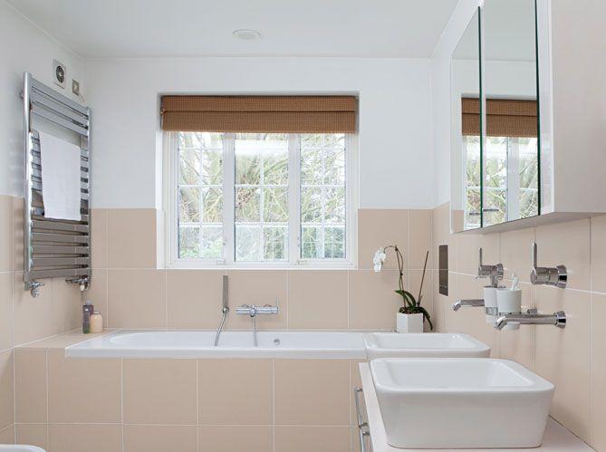 salle de bain carrelage cappuccino - Recherche Google Salle de