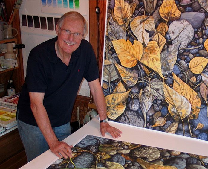Woodward Payne - Watercolor Studio