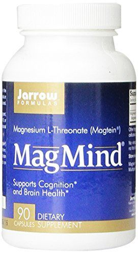 Jarrow Formulas Magmind Nutritional Supplement, 90 Count (Pack of 3) >>> Check this awesome product by going to the link at the image.