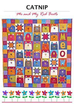 CATNIP PDF Quilt Pattern by TheRedBootQuiltCo on Etsy