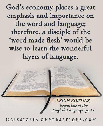 Essentials Of The English Language Homeschool Classical Conversations Essentials Classical Conversations Teaching Essentials