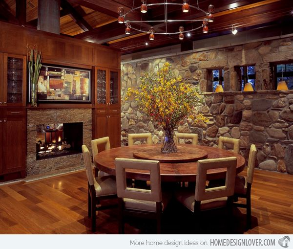 15 Stunning Round Dining Room Tables | Home Furniture ...