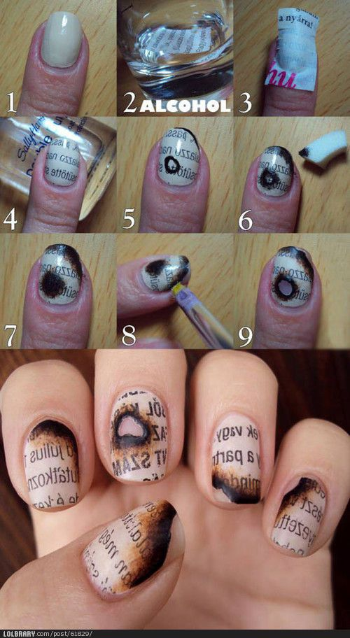 Omg This Is The Coolest Nail Design Ive Ever Seen My Two Favorite