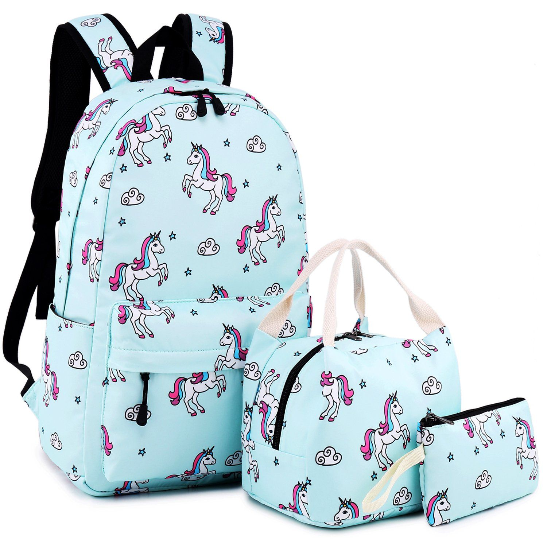 Funny Unicorn Backpack for Women Men Girl Boy Daypack Fashion Laptop Backpack for School College Hiking Travel Bag Bookbag Schoolbag