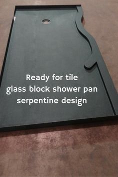 ... Waterproof Ready For Tile Shower Pan With A Glass Block Wall  Http://blog.innovatebuildingsolutions.com/2015/12/25/compare Shower Pans  Glass Block Wall/