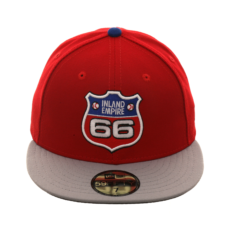 2e37a84d1e3 Exclusive New Era 59Fifty Inland Empire 66ers 2003 Hat - 2T Red ...