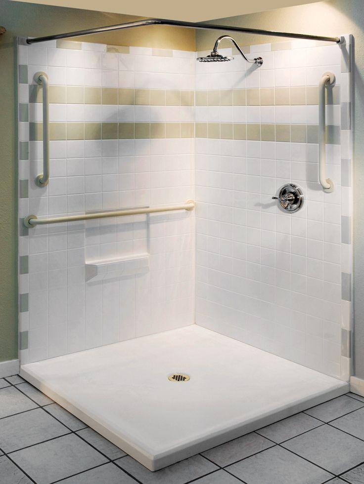 Gestaltung Handicap Duschen Fur Behinderte Blaumobel Info Duschsitz Dusche Klappsitz