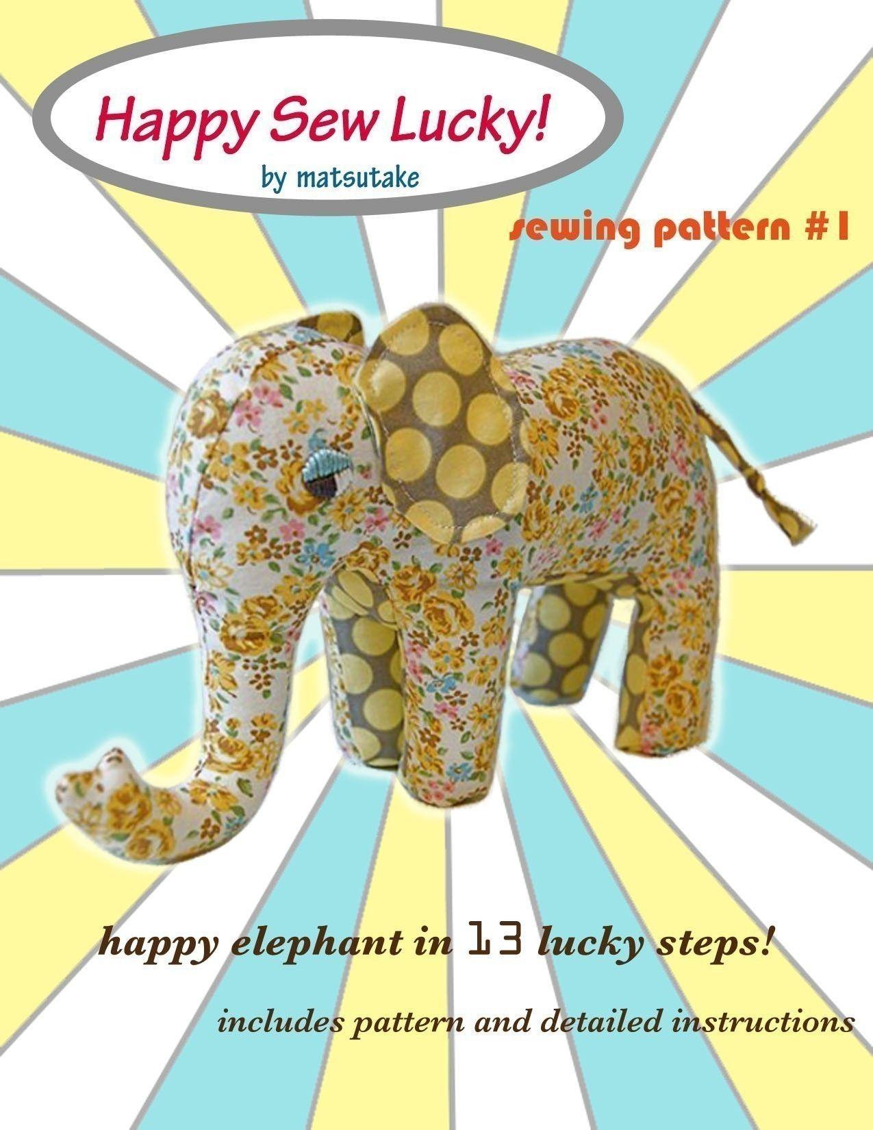 Elephant sewing pattern pdf 500 via etsy toys pinterest elephant sewing pattern pdf 500 via etsy jeuxipadfo Gallery
