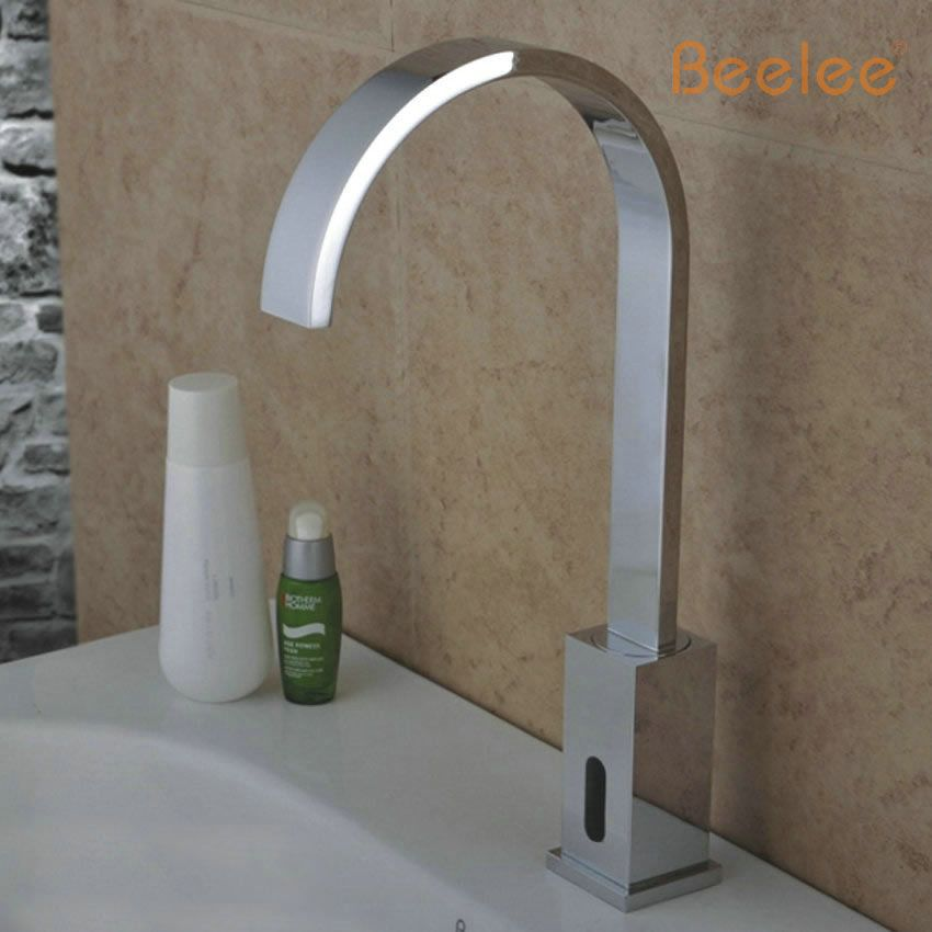 Free Shipping Public Sanitaryware Kitchen Faucet Touch Sensor Motion