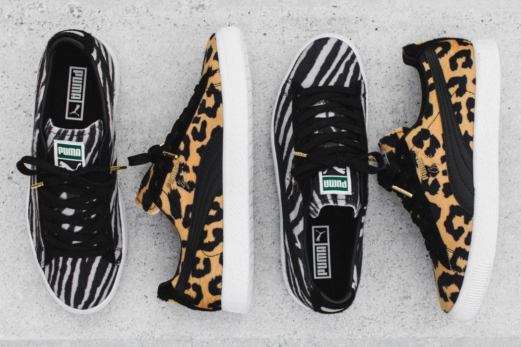 Puma Clyde Suits Pack - Cheetah and