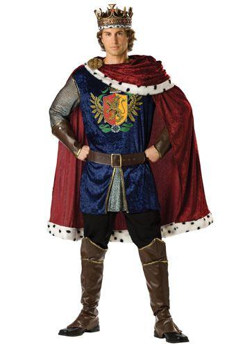 Homme Mâle Parade Veste Fancy Dress Costume Prince Charmant Costume Adulte