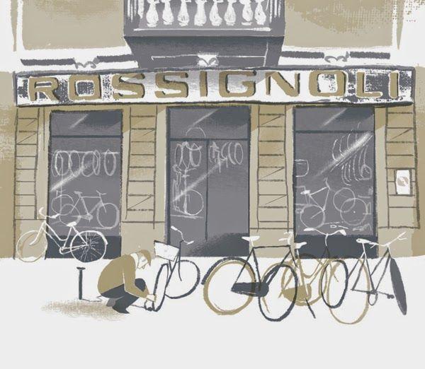 Hosber Art - Blog de Arte & Diseño.: Las ilustraciones cubistas de Riccardo Guasco