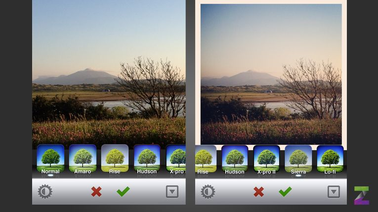 Image result for sierra filter before after, Instagram face filters