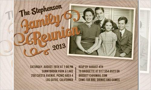 25+ Family Reunion Invitation Templates - Free PSD Invitations ...