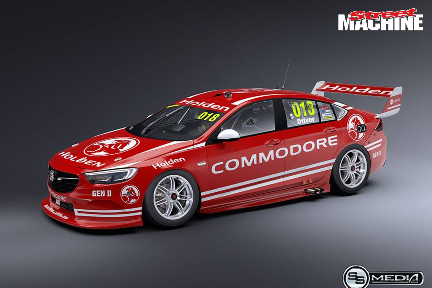 A look at what Holden's 2018 Commodore Supercars race car could look like. Could it really be V6-powered?
