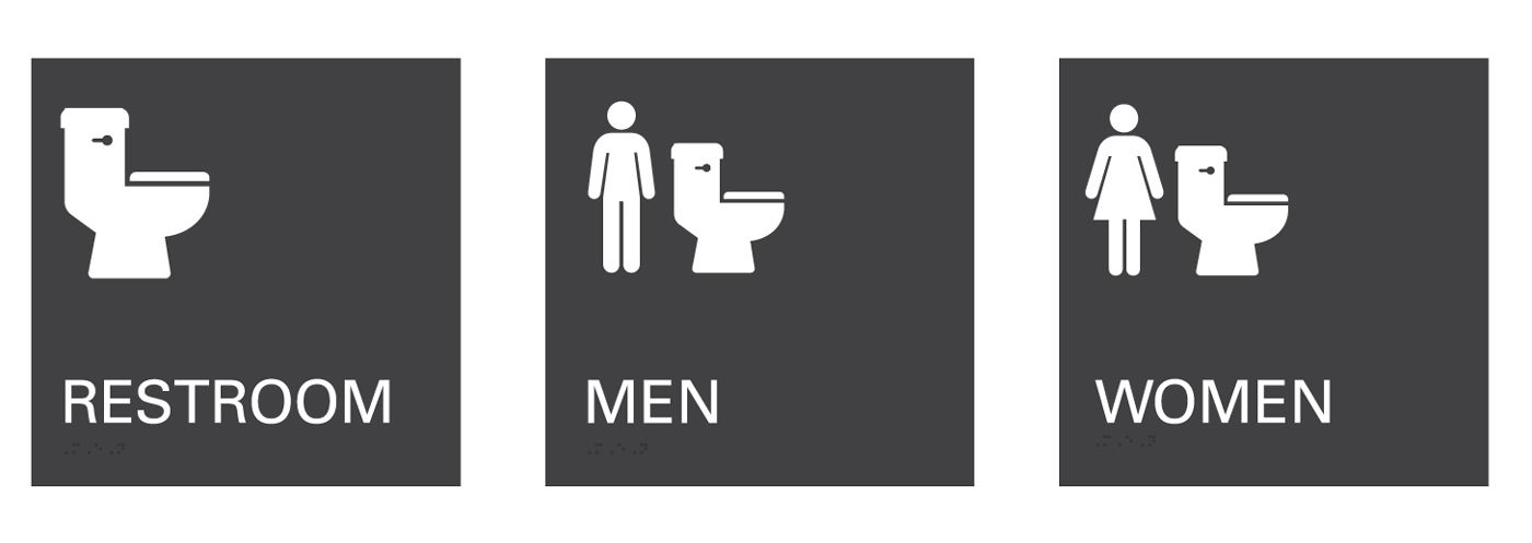 Designing An Inclusive Effective All Gender Restroom Symbol Dialogue Blog Research Insight Gensler All Gender Restroom Toilet Signage Restroom