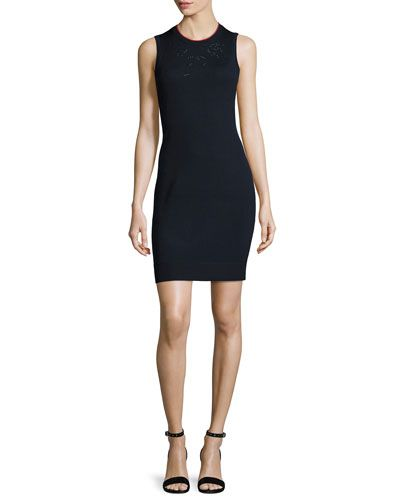 RAG & BONE Adriana Sleeveless Knit Sheath Dress. #ragbone #cloth #
