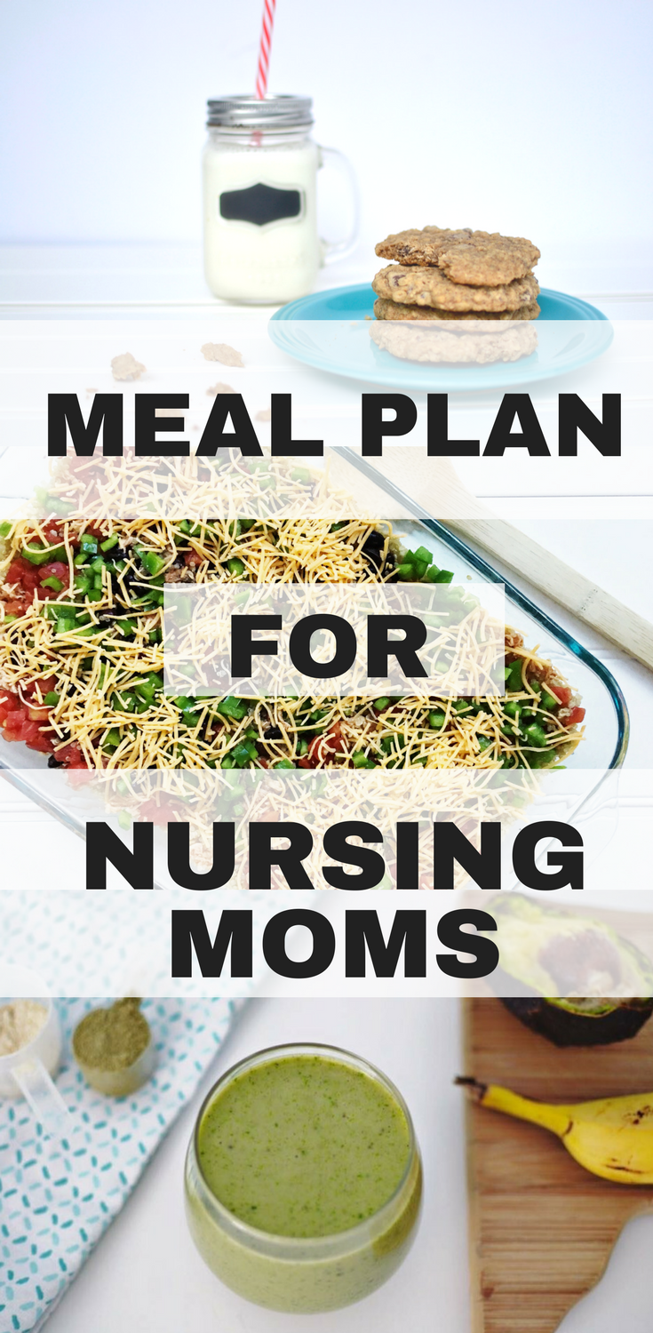 Healthy Eating And Snack Ideas For Nursing Moms