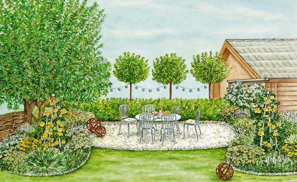 Neugestaltung Einer Dunklen Gartenecke Gartenecke Bepflanzung Gartengestaltung
