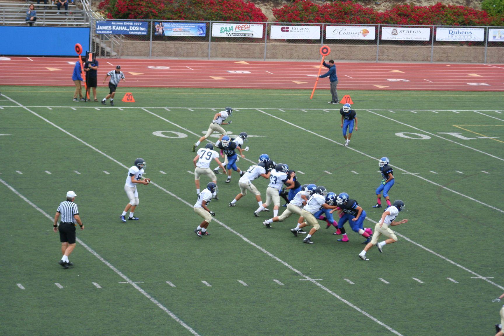 Pin by Dana Hills Football on Frosh 2014- Dana Hills vs San