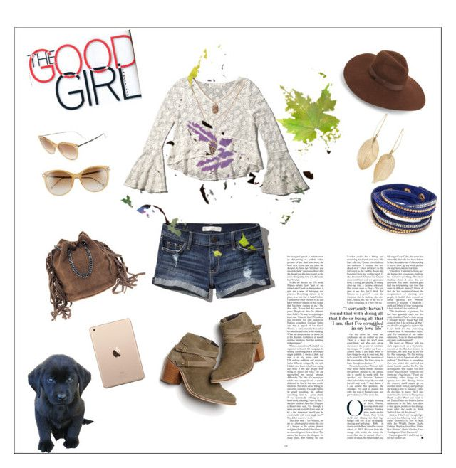 """""""Good Cowgirl Style"""" by eerised-lopez on Polyvore featuring Abercrombie & Fitch, Gucci, Monsoon, Lack of Color and Lulu*s"""