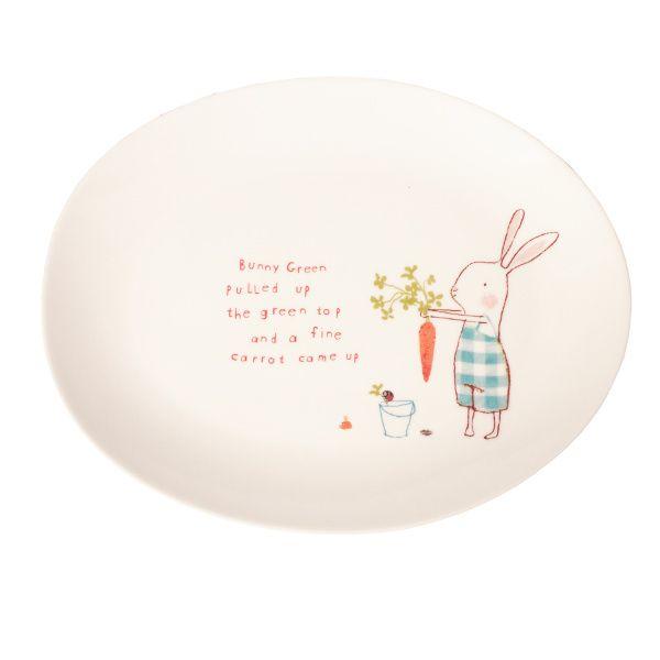 Maileg Bunny Green Melamine Plate  sc 1 st  Pinterest & Maileg Bunny Green Melamine Plate | Products I Love | Pinterest ...