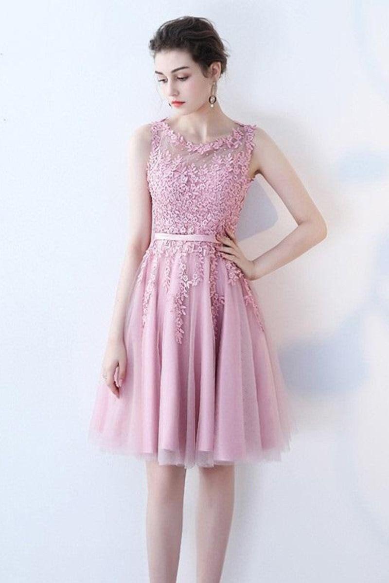Kisa Abiye Elbise Pembe Renk 2020 Elbise Nedime Giysileri The Dress