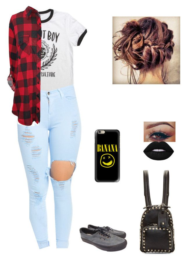 """""""Drum Music of the American Revolution"""" by well-its-jess ❤ liked on Polyvore featuring Casetify, Vans, Lime Crime and Valentino"""