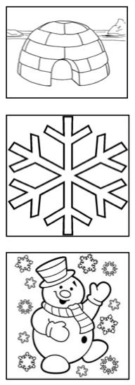 winter weihnachten malvorlagen kreativ malen  mathe