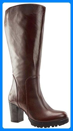 Street Footwear Cognac Ml Jj Stiefel Damen 42 Brora Leder Y6f7vbyg