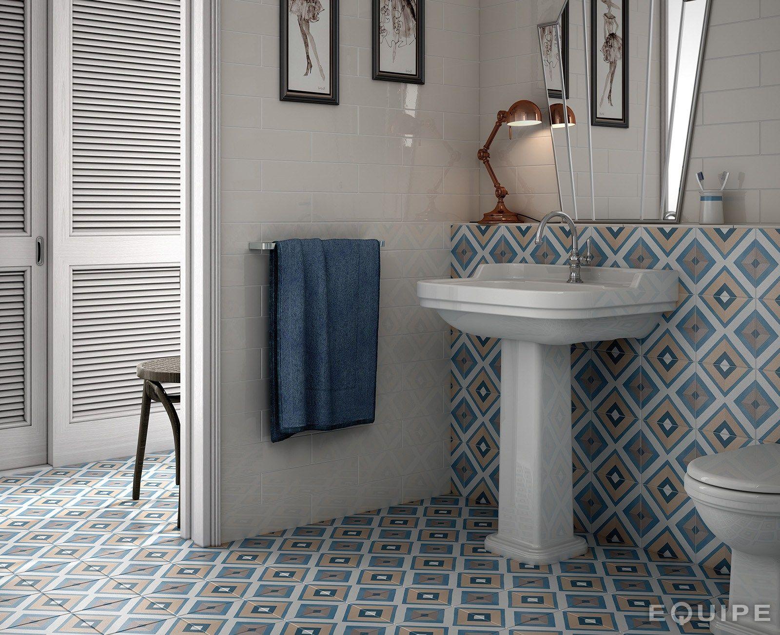 rev tement de sol mur en c ramique caprice deco by equipe ceramicas carreaux de ciment. Black Bedroom Furniture Sets. Home Design Ideas