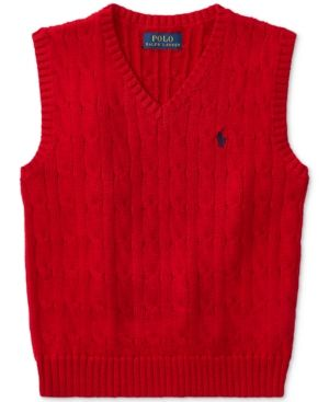 588a98bf3a44 Polo Ralph Lauren Cotton Vest
