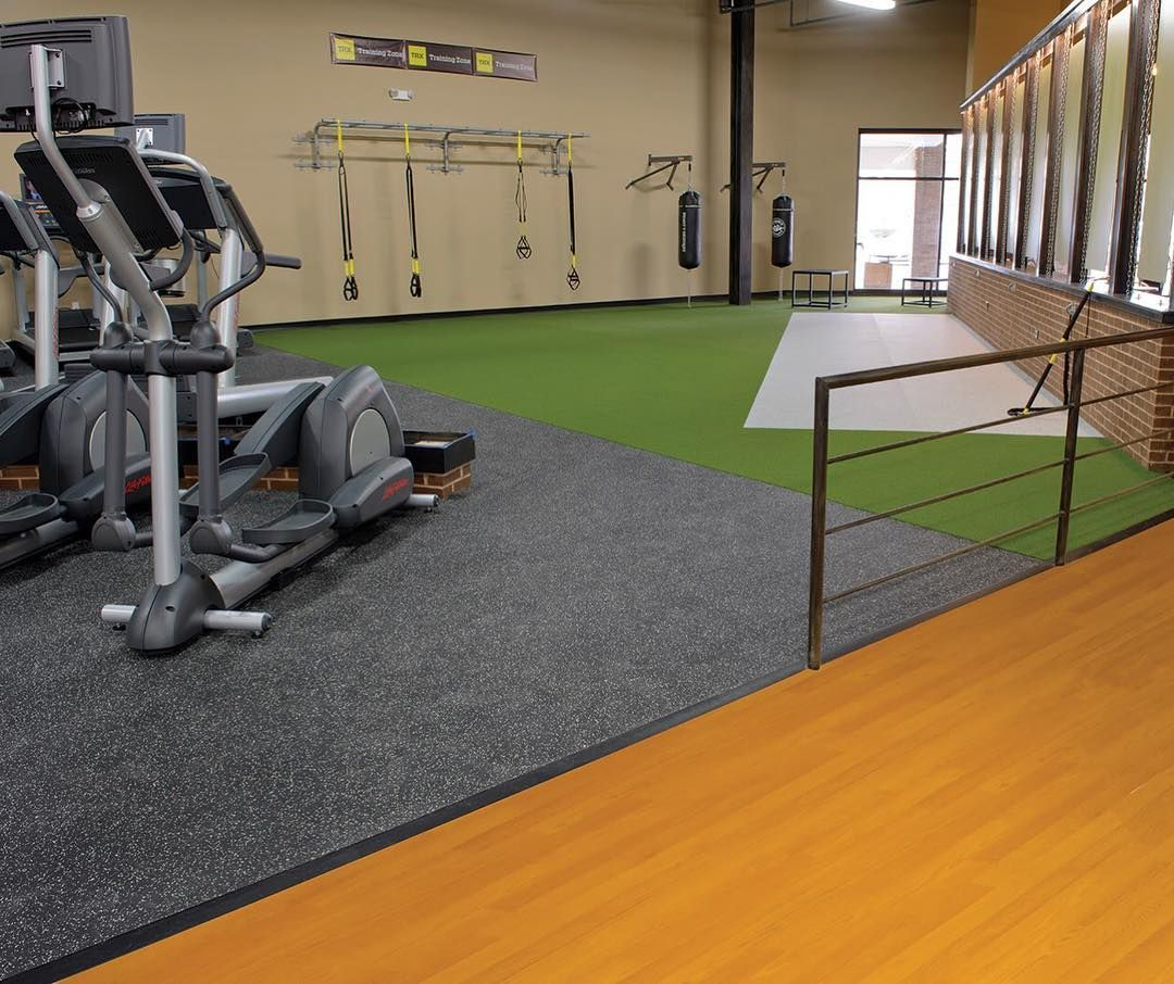 Quality Gym Flooring Will Bring A Professional Look And Feel To Any Fitness Room While Providing Protection For Both User Workout Rooms Gym Flooring Gym Design