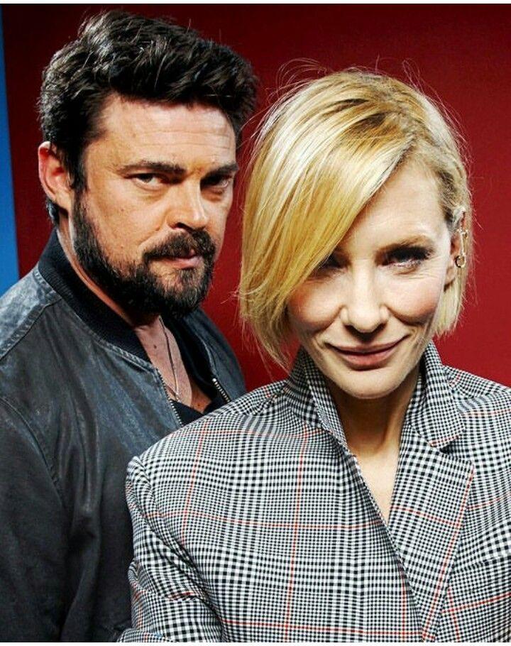 Skurge Aka Karl Urban With Hela Aka Cate Blanchett In Thor