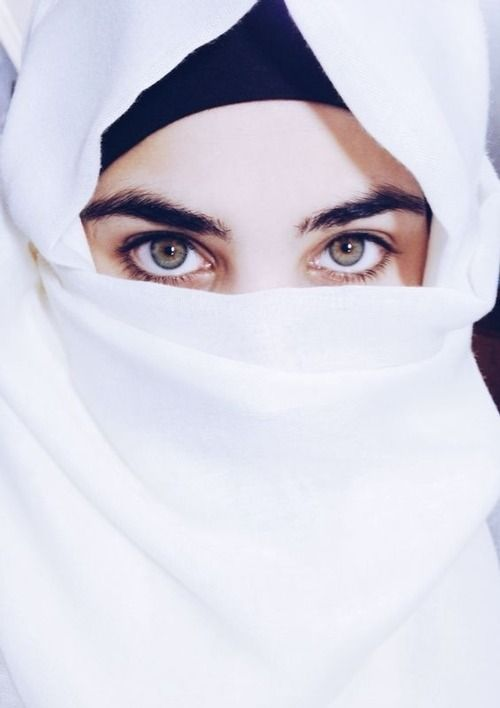 This Photo Shows The Beauty Of The Niqab Hijabi Girl Arab