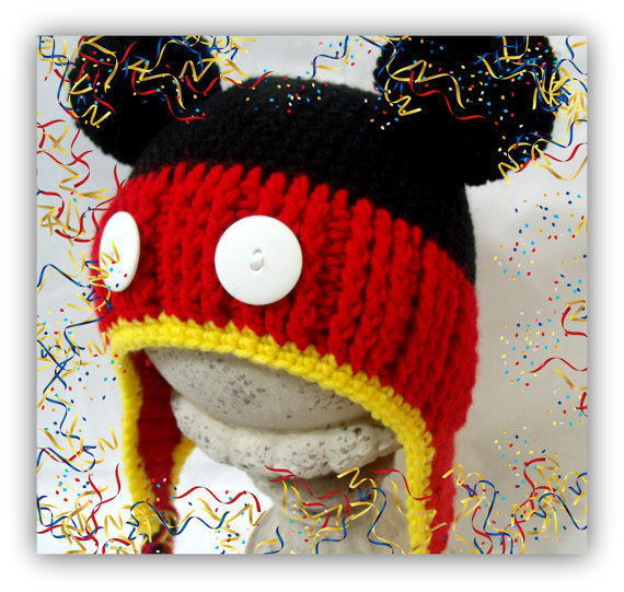 I have finally finished writing out my original pattern to create this Mickey  Mouse Earflap Hat! It is a crochet pattern made for the intermediate expert  ... 5ccb58e2026