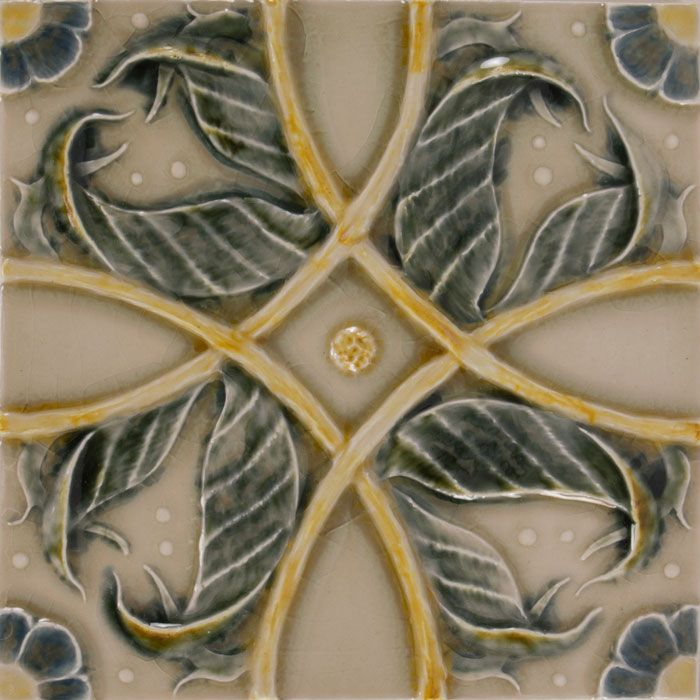 Handmade Decorative Tiles Fascinating American Handmade Decorative Ceramic Tile Pratt And Larson Vine Inspiration