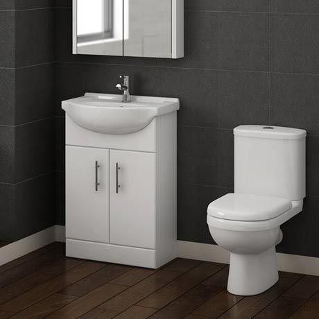 Sofia Modern Close Coupled Toilet With Soft Close Seat Online Now Close Coupled Toilets Vanity Units Bathroom Suites