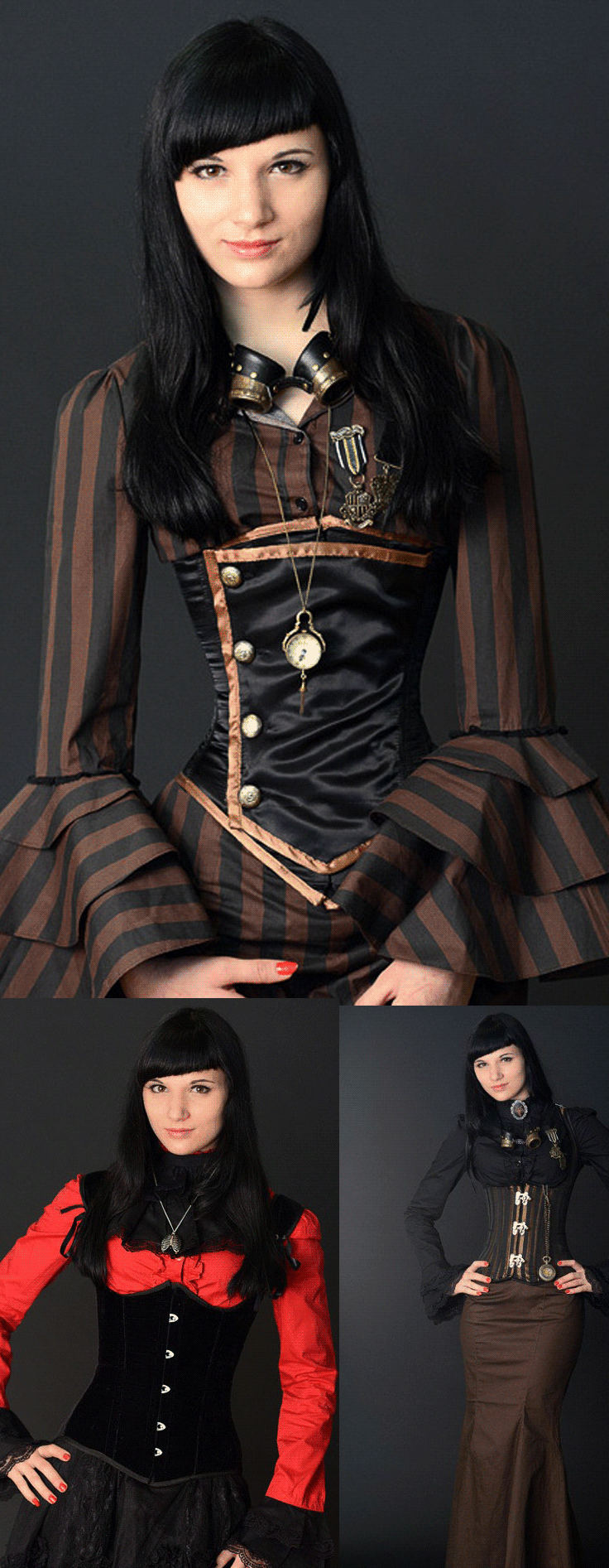 shop victorian steampunk womens clothing at rebelsmarket