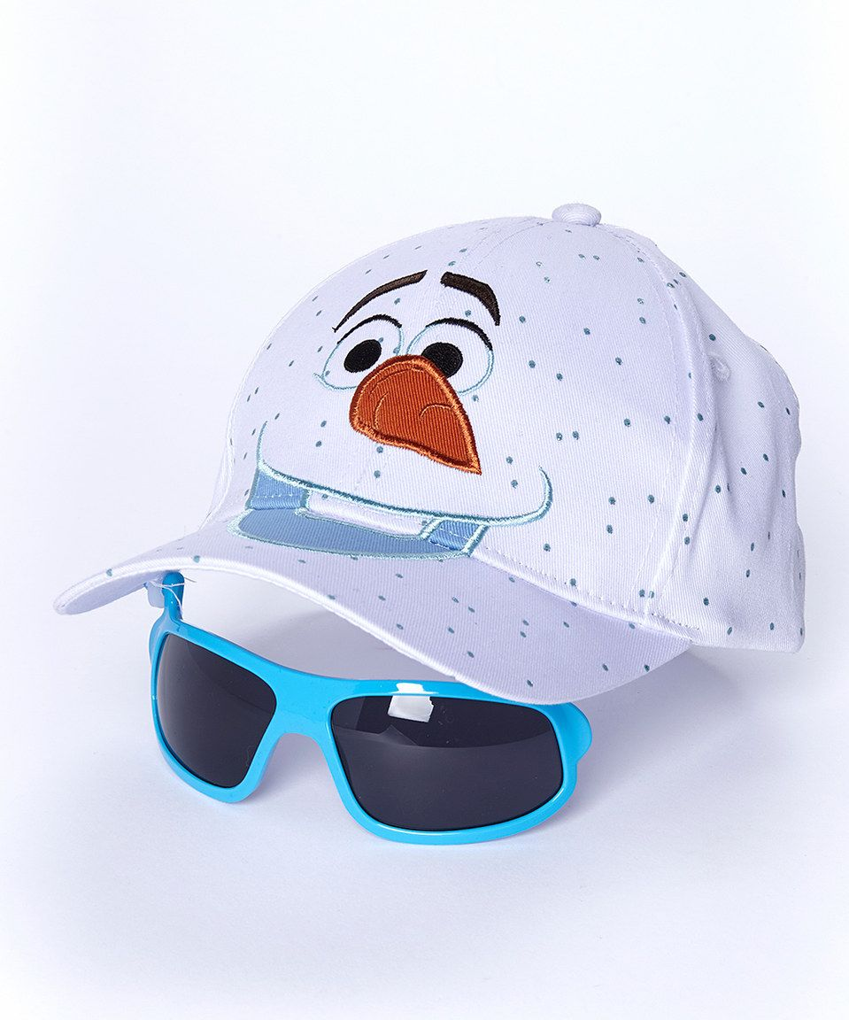 5e40688083c Loving this Frozen Olaf Sunglasses   Baseball Hat on  zulily!  zulilyfinds