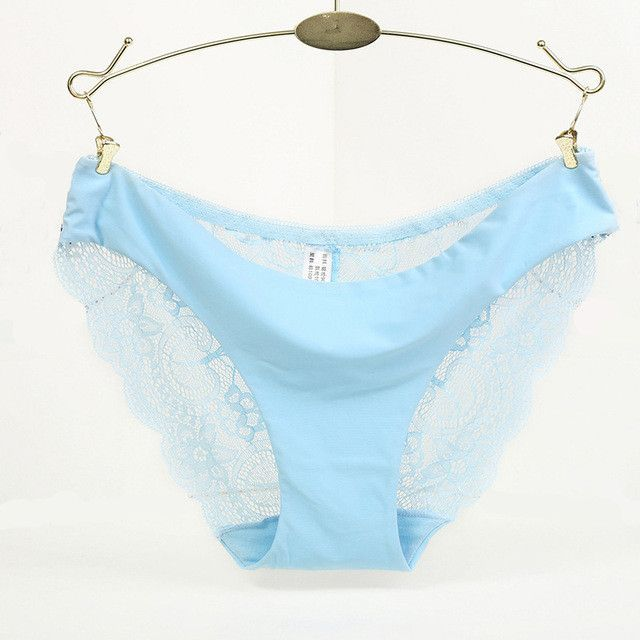f3f4bc6b2f Hot sale! l women s sexy lace panties seamless cotton breathable panty  Hollow briefs Plus Size girl underwear