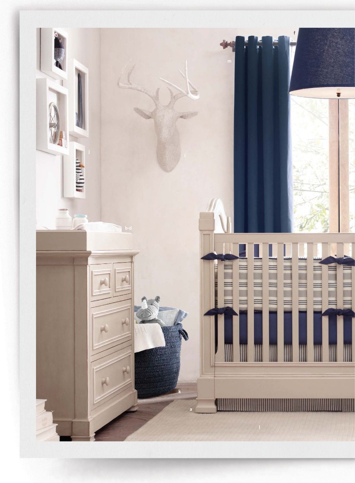 Babyzimmer Möbel Maritim Love The Navy Maritime Look Home Nursery Bedding