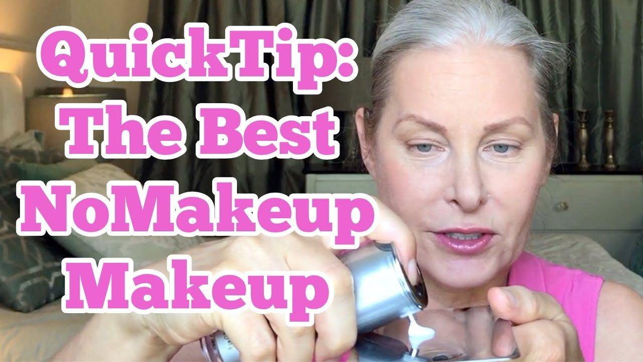 QuickTip: The Best NoMakeup Makeup - YouTube