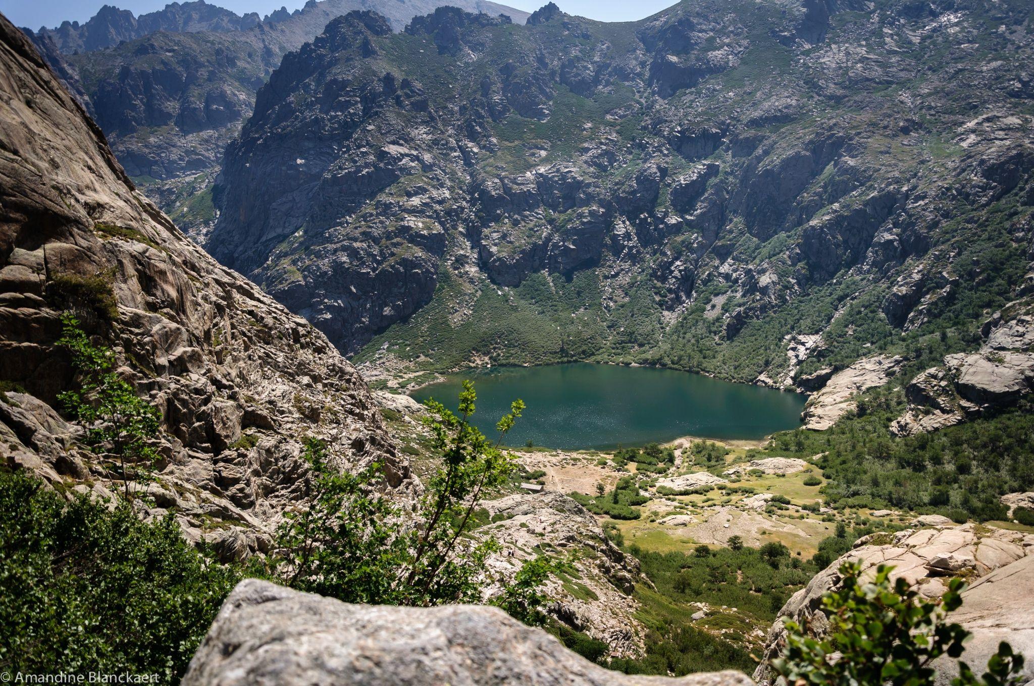 A plus de 1700m dans la vallée de la Restonica (Corse)