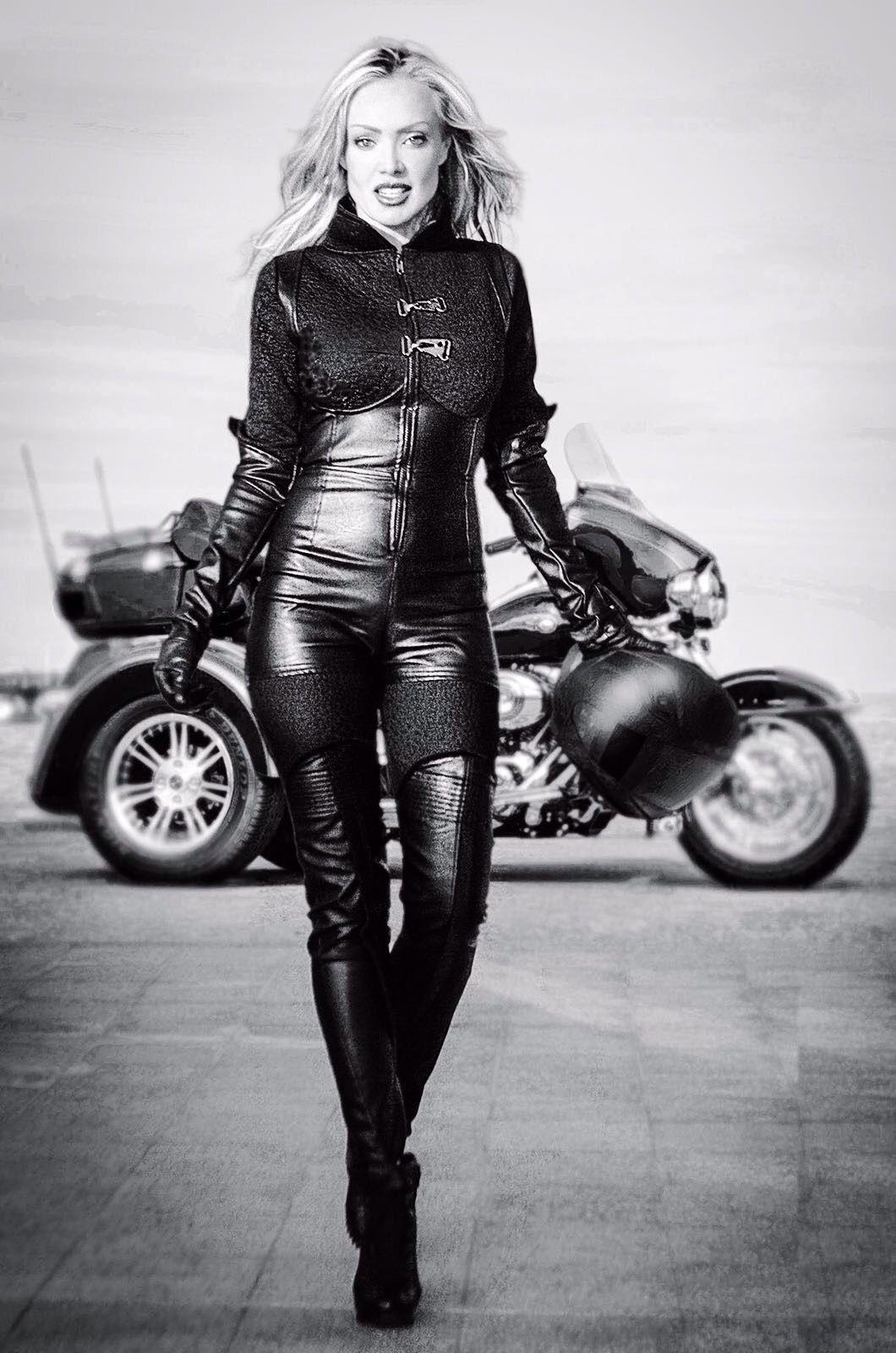Lady Biker Biker Girl Biker Chick Girl Motorcycle Cafe Racer Girl