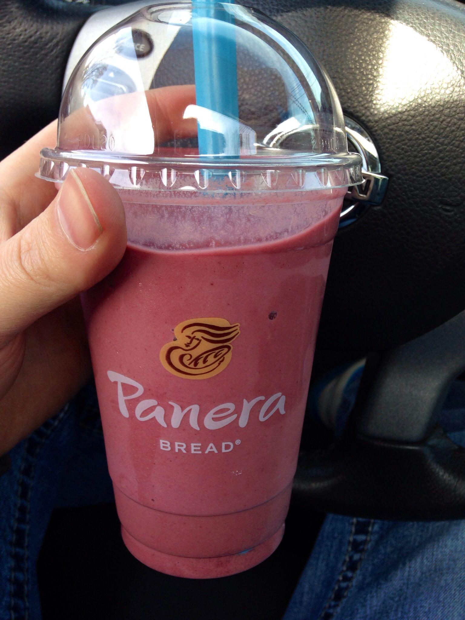 Super fruit Power Smoothie Panera. My favorite drink