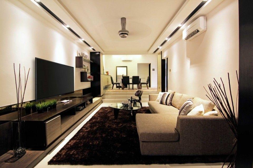 Rumah Teres Setingkat Ttdi Diubah Suai Seperti Banglo Mewah Dan Moden