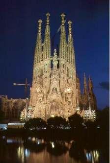 Barcelona - Templio Expiatorio de la la Sagrada Familia
